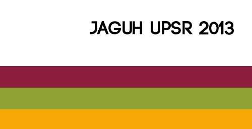 Jaguh UPSR 2013
